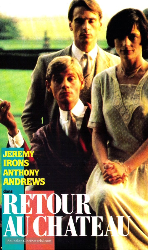"""""""Brideshead Revisited"""" - French VHS movie cover"""