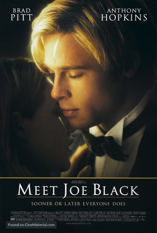 Meet Joe Black - Theatrical movie poster