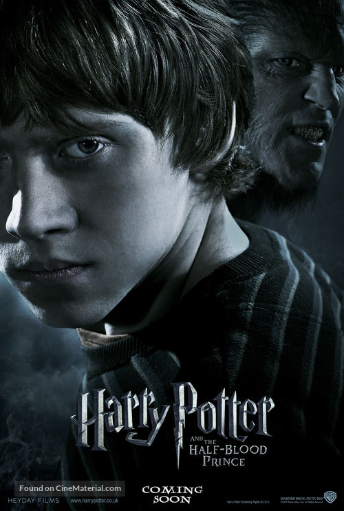 Harry Potter And The Half Blood Prince 2009 British Movie Poster