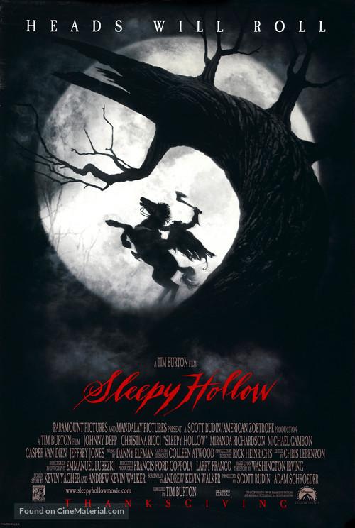 Sleepy Hollow - Movie Poster
