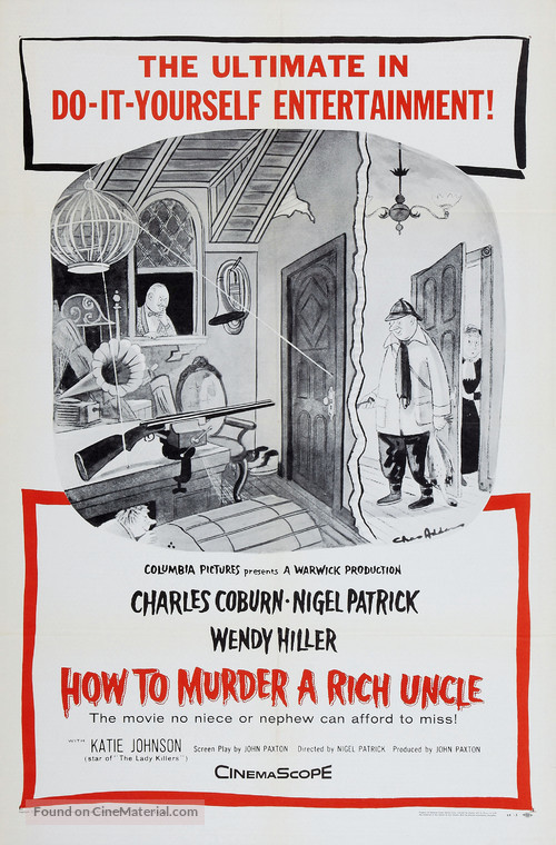 How to Murder a Rich Uncle - Movie Poster