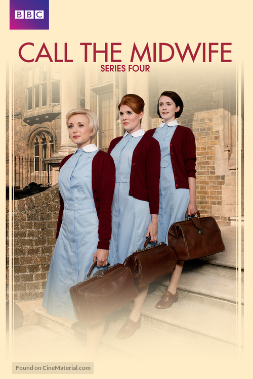 """Call the Midwife"" - British Movie Cover"