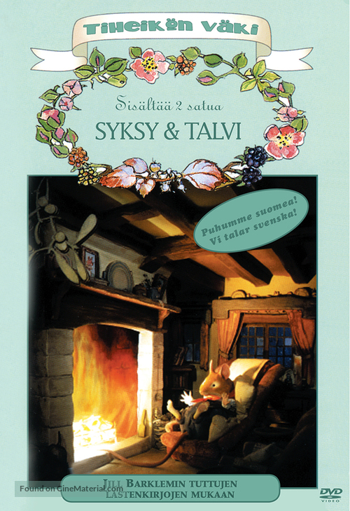 """Brambly Hedge"" - Finnish DVD movie cover"