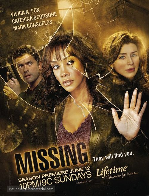 """""""1-800-Missing"""" - Movie Poster"""