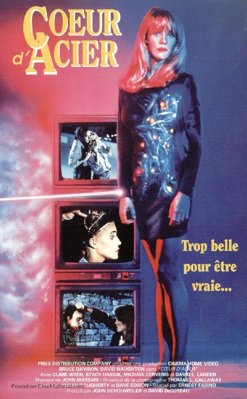 Steel and Lace - French VHS movie cover