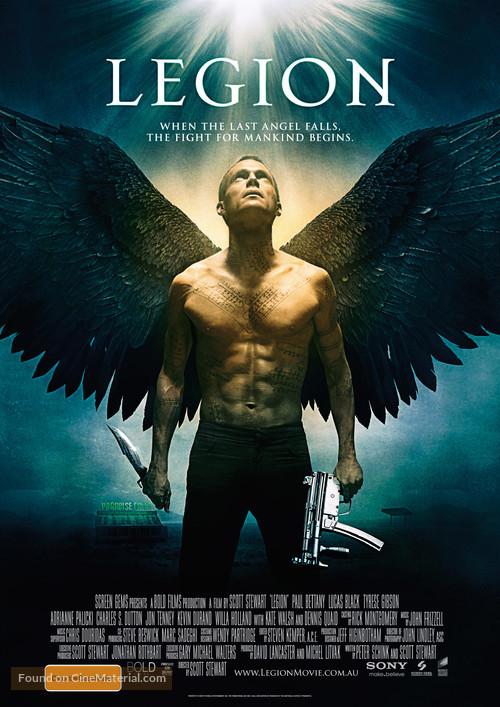 Legion - Australian Movie Poster