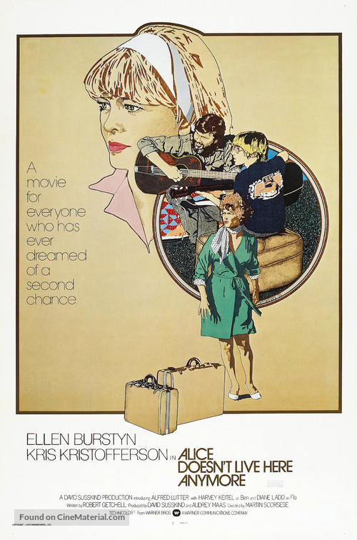 Alice Doesn't Live Here Anymore - Movie Poster