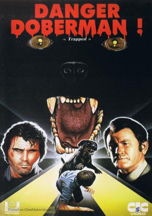Trapped - French VHS movie cover