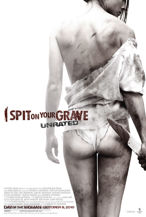 I Spit on Your Grave - Movie Poster