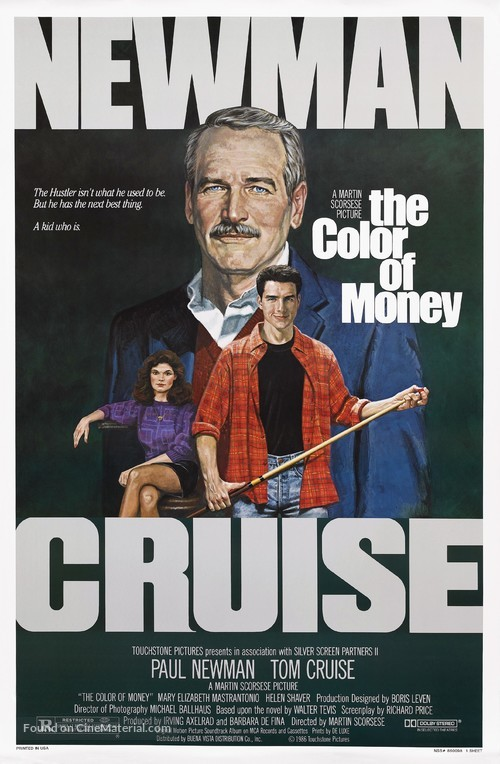 The Color of Money - Movie Poster