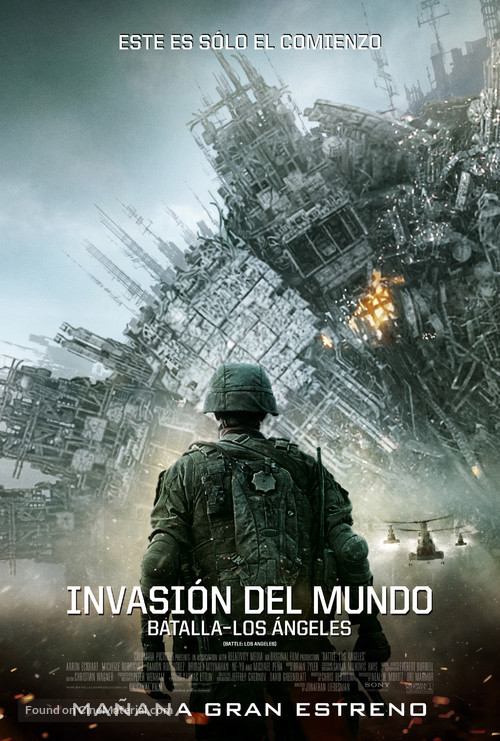 Battle: Los Angeles - Chilean Movie Poster