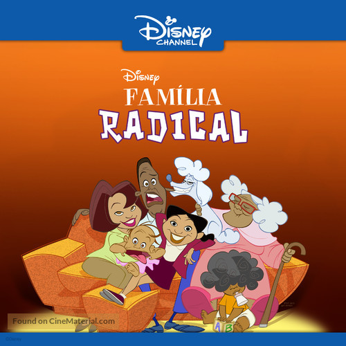 """""""The Proud Family"""" - Brazilian Movie Poster"""