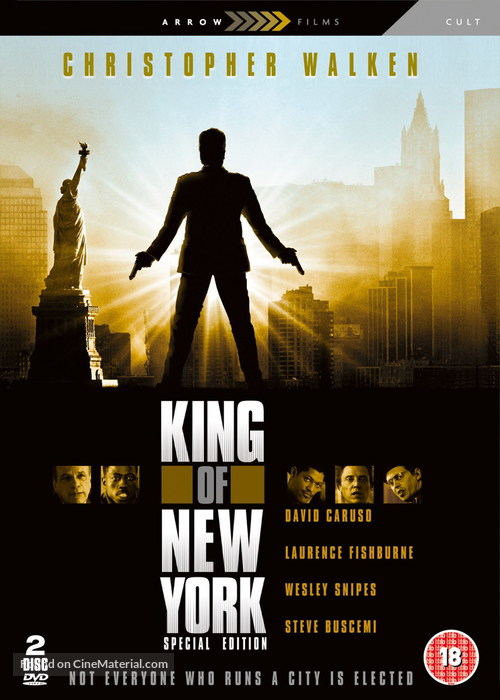 King of New York - British Movie Cover