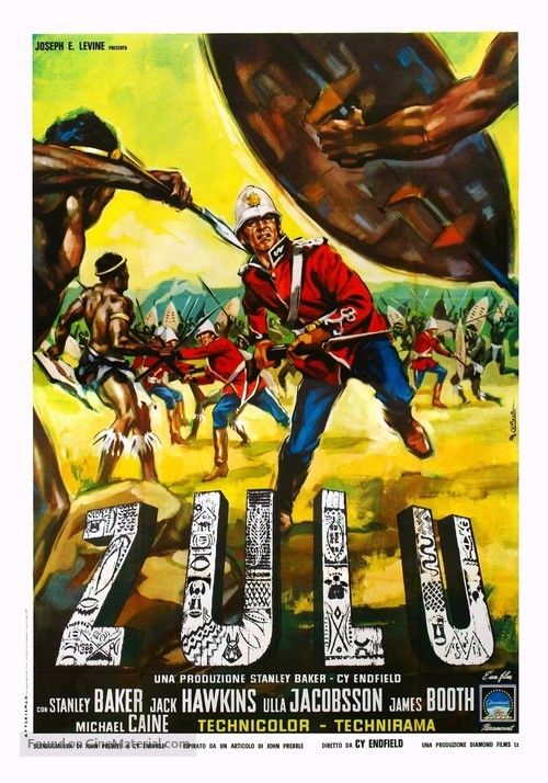 Zulu - Italian Movie Poster