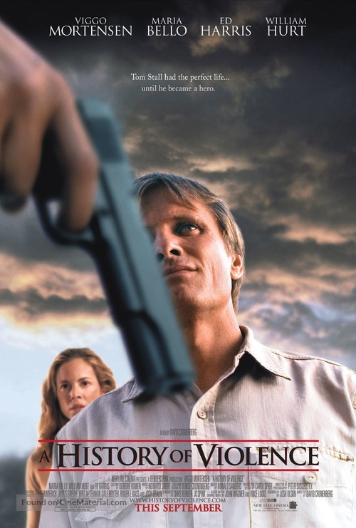 A History of Violence - Movie Poster
