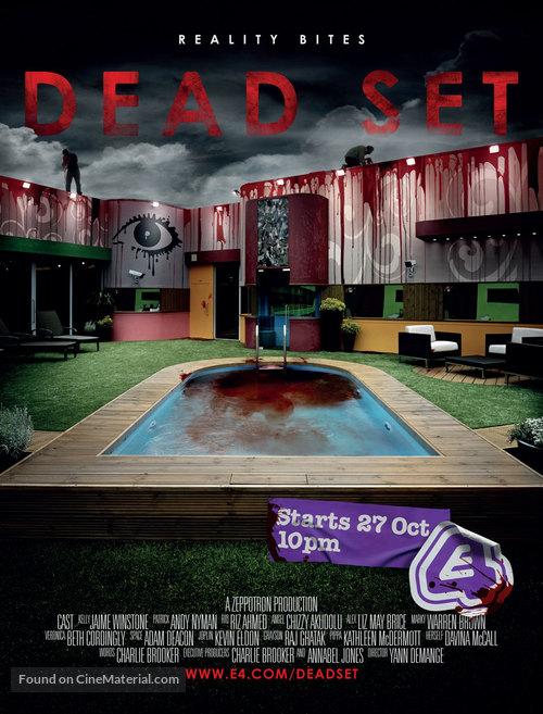 """""""Dead Set"""" - British Movie Poster"""