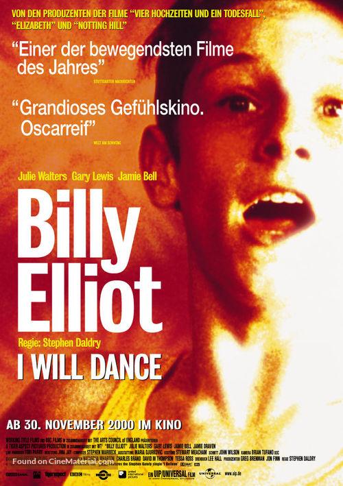 Billy Elliot - German Movie Poster