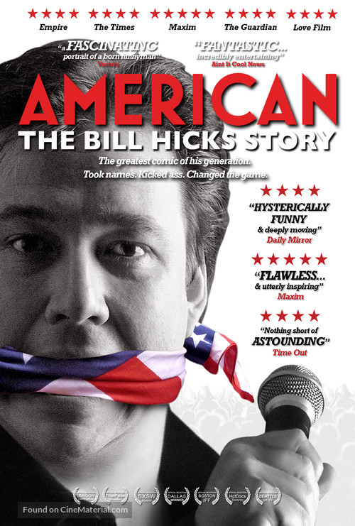 American: The Bill Hicks Story - DVD movie cover