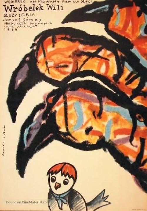 Vili, a veréb - Polish Movie Poster