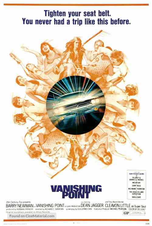Vanishing Point - Theatrical movie poster