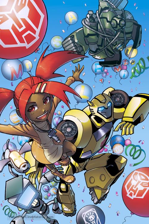 """Transformers: Animated"" - Key art"