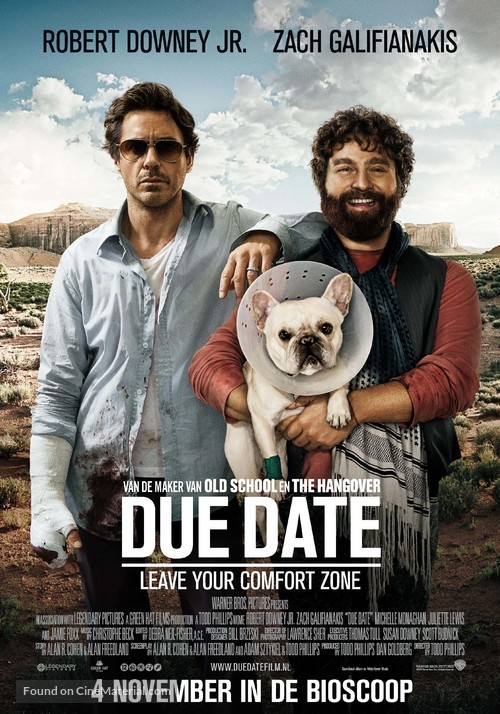 Due Date - Dutch Movie Poster