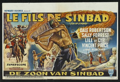 Son of Sinbad - Belgian Movie Poster
