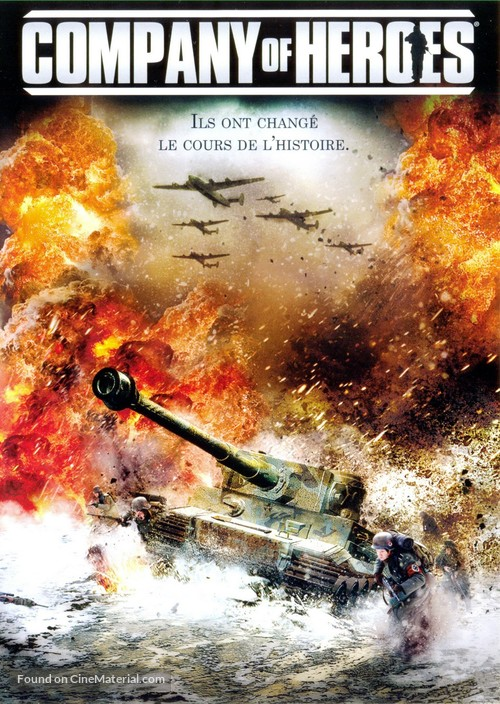 Company of Heroes - French DVD cover