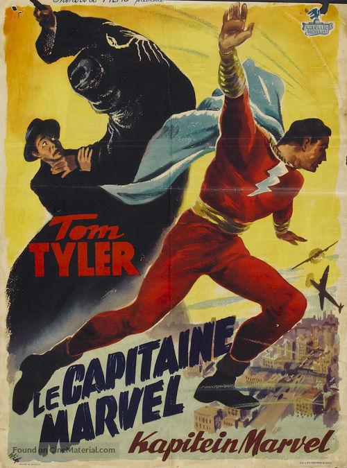 Adventures of Captain Marvel - Belgian Movie Poster