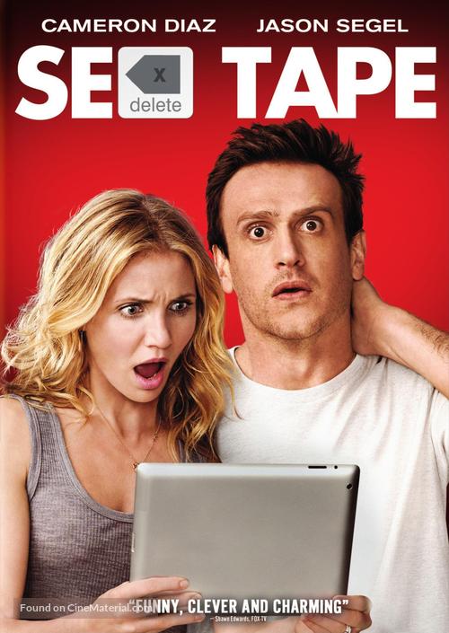 Sex Tape - DVD movie cover