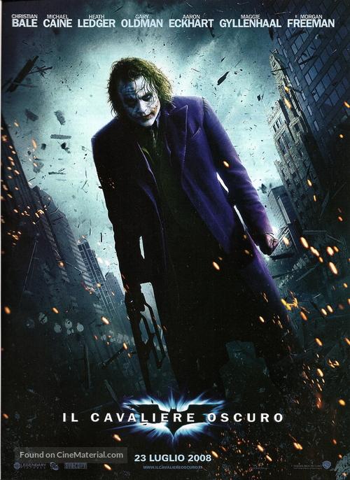 The Dark Knight - Italian Movie Poster