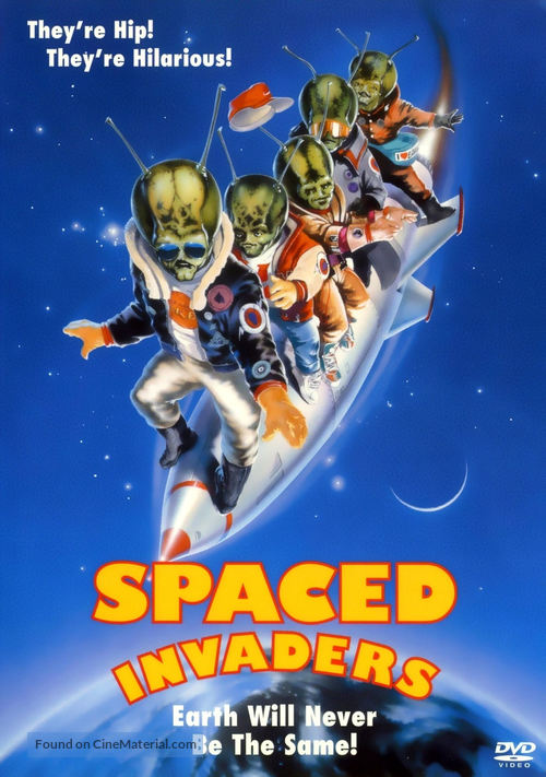 Spaced Invaders - DVD movie cover
