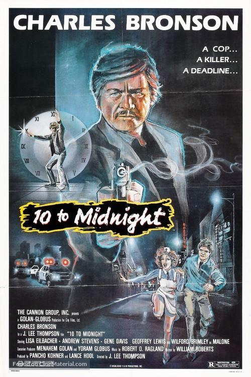 10 to Midnight - Movie Poster
