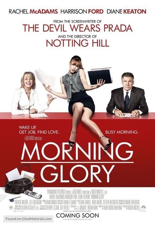Morning Glory - British Movie Poster