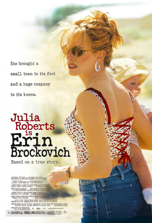 Erin Brockovich - Movie Poster