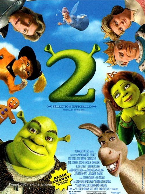 Shrek 2 - French Movie Poster