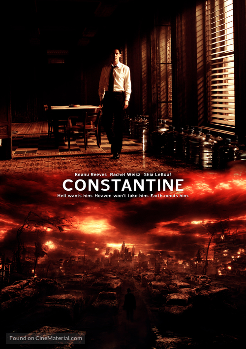 Constantine - DVD movie cover