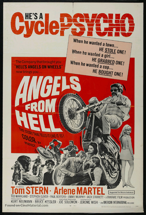 Angels from Hell - Movie Poster