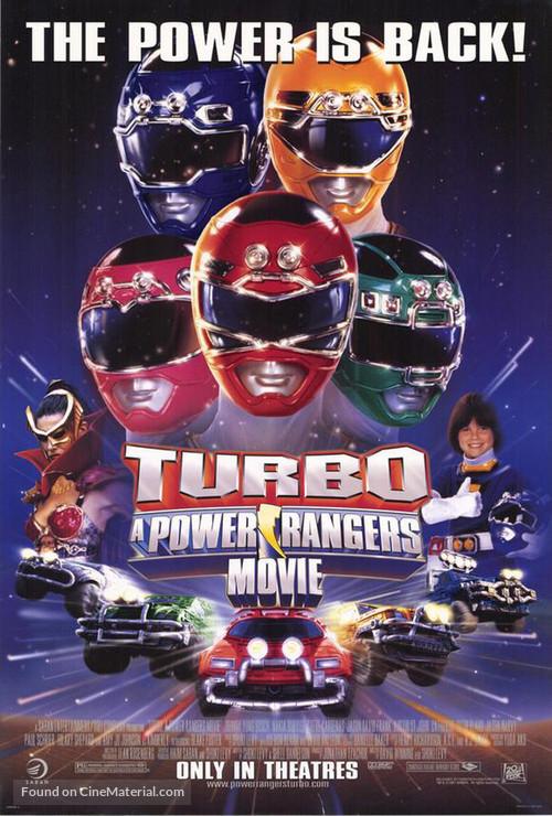 Turbo: A Power Rangers Movie - Movie Poster