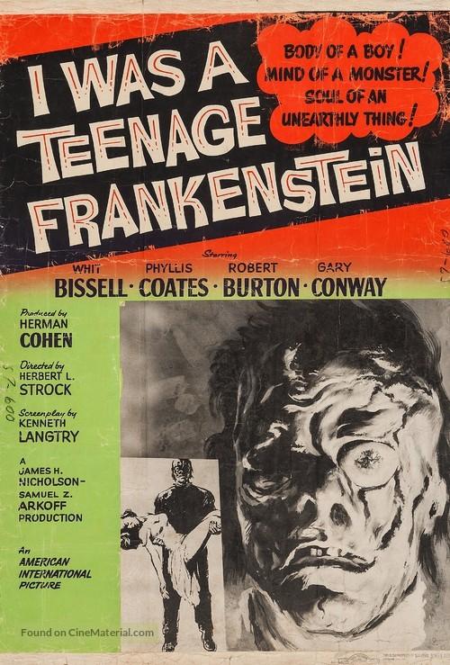 I Was a Teenage Frankenstein - Movie Poster
