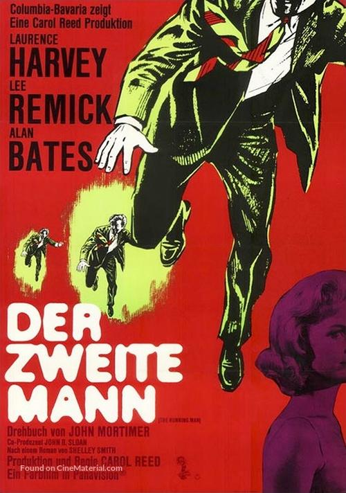 The Running Man - German Movie Poster