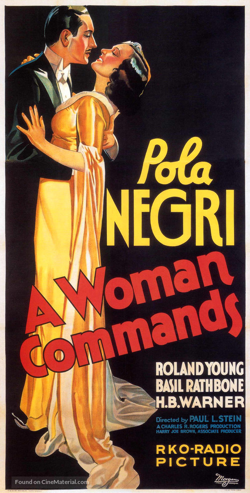 A Woman Commands - Movie Poster