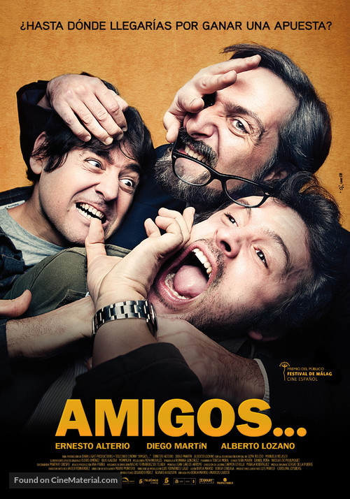 Amigos - Spanish Movie Poster