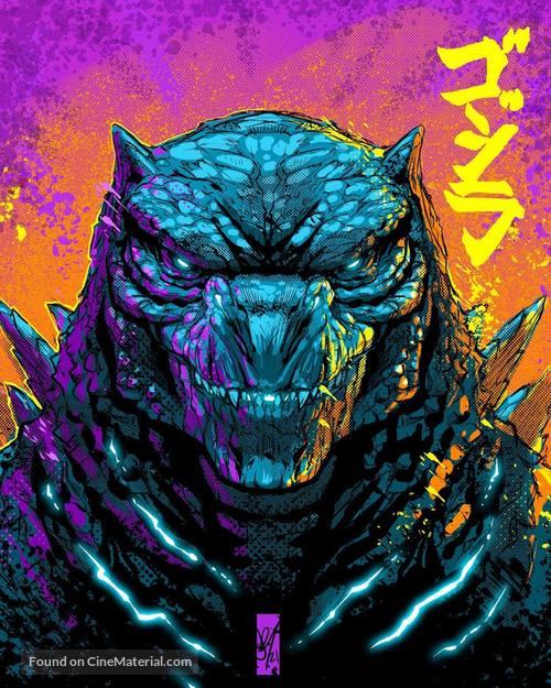 Godzilla vs. Kong - Japanese poster