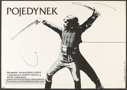 The Duellists - Polish Movie Poster