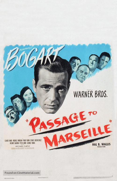 Passage to Marseille - Movie Poster