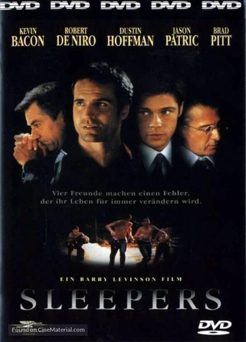 Sleepers - Dutch DVD movie cover