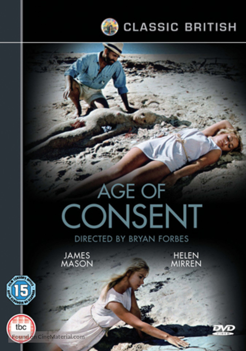 Age of Consent - British Movie Cover