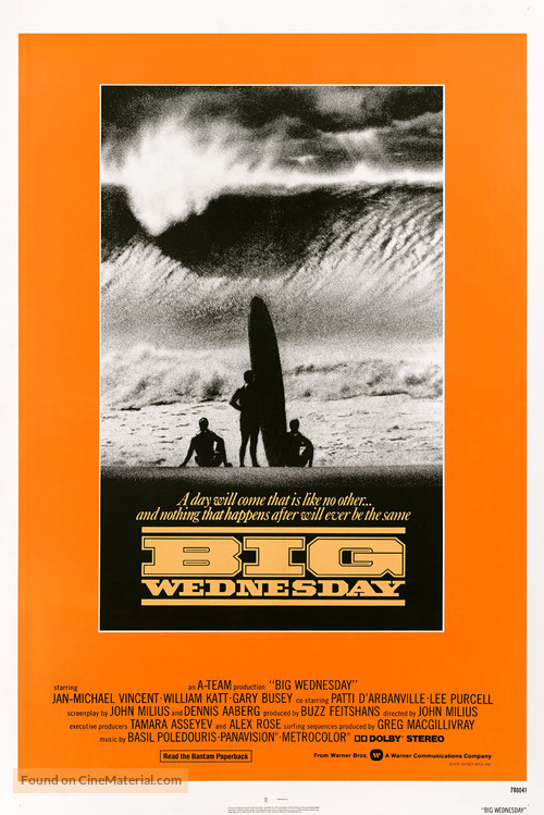 Big Wednesday - Movie Poster