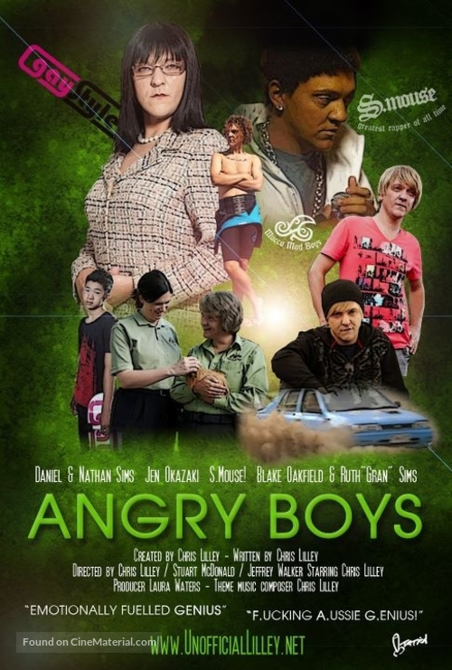 """""""Angry Boys"""" - Movie Poster"""